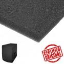 Burete fonotransparent tip filtru pentru boxe si incinte acustice