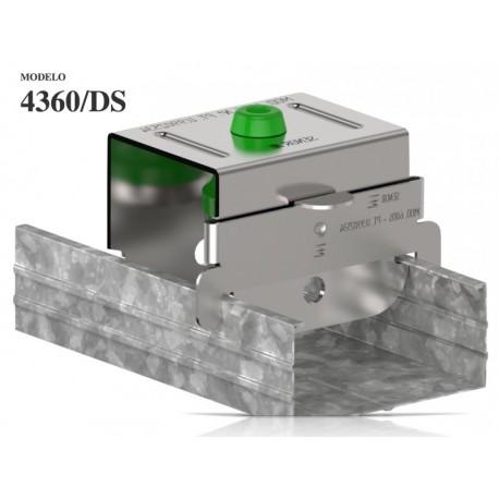 Brida acustica antivibratii Senor 4360 pentru sistem tavan