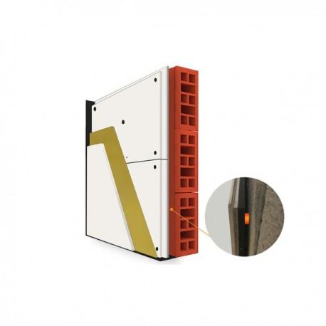 Placi gips carton acustic MUTE 23 cu sistem antivibratii