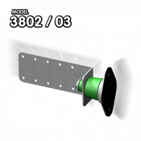 Brida acustica antivibratii Senor 3802/3803 pentru perete