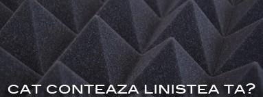 Placile de burete piramidal se imbina perfect placa cu placa oferind un efect senzational